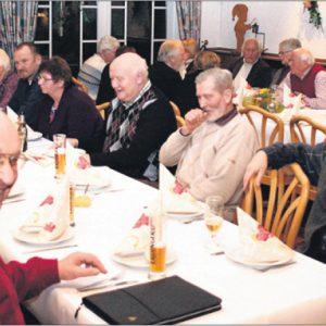Eine gute Stimmung herrschte bei den SPD Senioren in Varl (Foto G. Scheland).