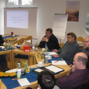 Klausurberatungen im Pr. Ströher Gemeindehaus