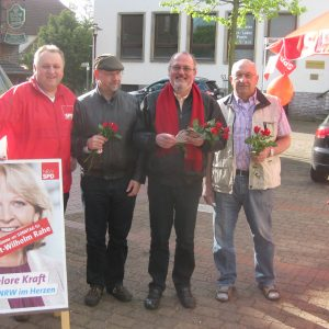 Rahdener Sozialdemokraten mit Kandidat Ewi