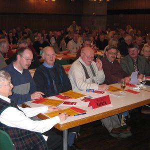 Rahdener Delegierte auf Konferenz