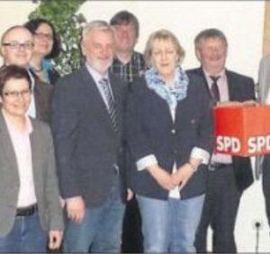 Die Rahdener Kandidaten mit Ralf Niermann