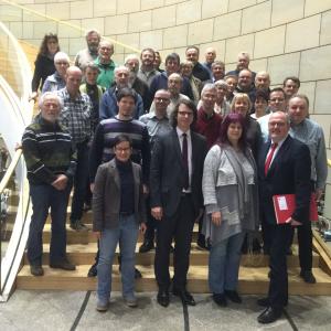 Besuch beim NRW Landtag