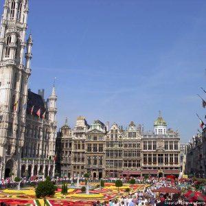 Der berühmte Platz Grand Place in Brüssel