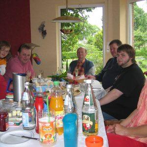 Politisches Frühstück des Ortsverein Pr. Ströhen.