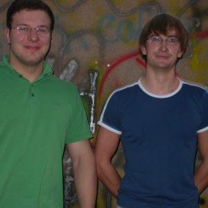 Alexander Milstein und Philip Matern