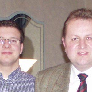 Referenten Milstein und Kuhlmann auf Neujahrsempfang