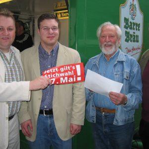SPD Rahden stimmt sich auf die Stichwahl ein.