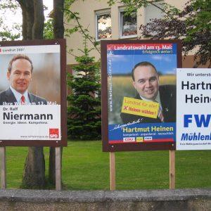 Unfairer Wahlkampf durch FWG