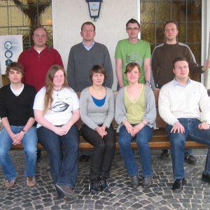 Neuer Vorstand der Jusos im Altkreis Lübbecke.
