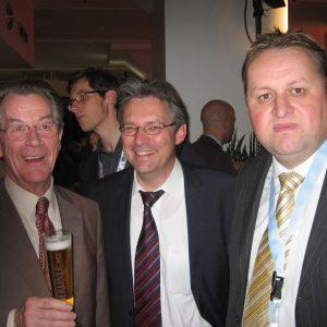 Achim Post und Torsten Kuhlmann trafen Franz Müntefering in Berlin.