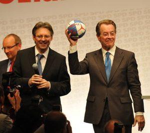 Achim Post und Franz Müntefering auf dem Konvent