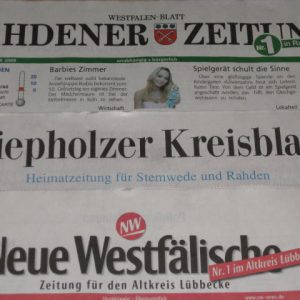 Berichte lokaler Zeitungen