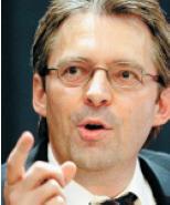 Richtungsweisend: Achim Post stimmte auf den Wahlkampf ein.