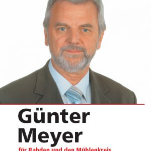 Günter Meyer für Rahden und den Mühlenkreis