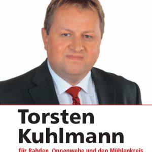 Torsten Kuhlmann für Rahden, Oppenwehe und den Mühlenkreis