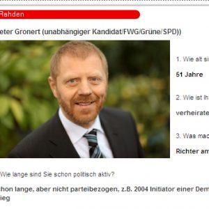 Bürgermeisterkandidaten - der direkte Vergleich im Radio Westfalica!