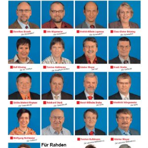 Team SPD Rahden Kommunalwahl 2009