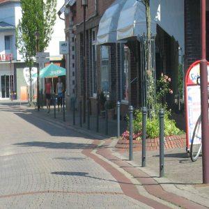 Wenig Fahrradgeeignet /Engpass in der Innenstadt