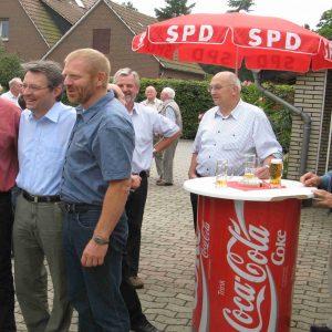Ernst-Wilhelm Rahe, Achim Post und Dieter Gronert in Varl