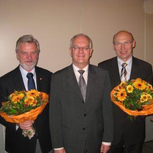 Bürgermeister mit Stellvertreter