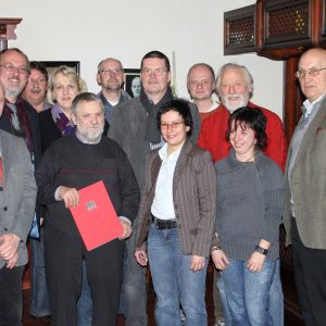 Blickt auf ein erfolgreiches Jahr 2009 zurück...der Vorstand der Rahdener SPD