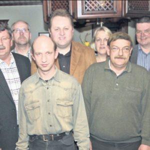 Der neue Vorstand des SPD Stadtverbandes Rahden.