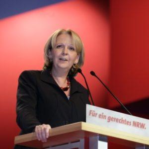 Hannelore Kraft beim Wahlkampfauftakt in Düsseldorf (Foto NRWSPD)