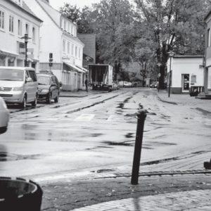 In die Jahre gekommen: Die Marktstraße in Rahden. Foto: Manfred Lampe NW