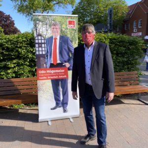 Udo Högemeier hat am Samstagvormittag auch für Gespräche zur Verfügung gestanden.